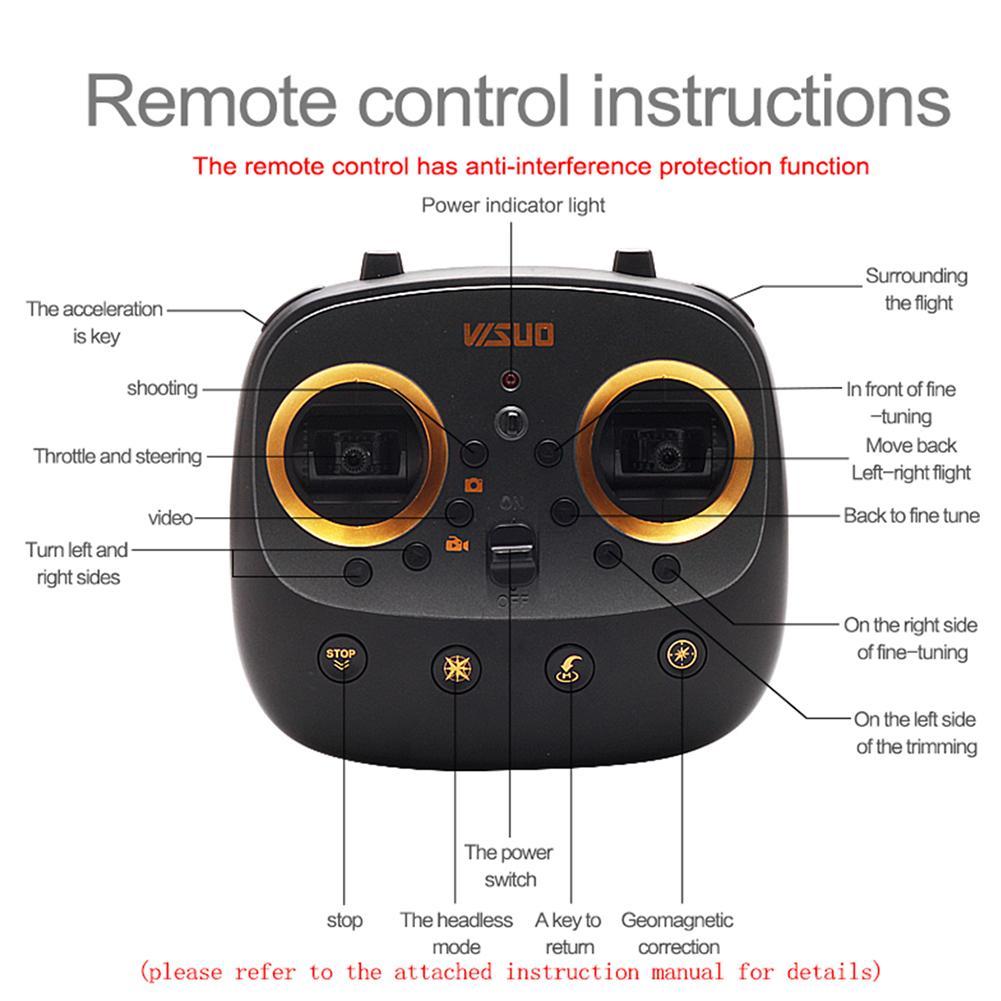 4 k hd câmera 5g wifi xs812 gps rc zangão com fpv altitude hold um retorno chave rc quadcopter helicóptero vs xs816 sg106 # m2 - 5