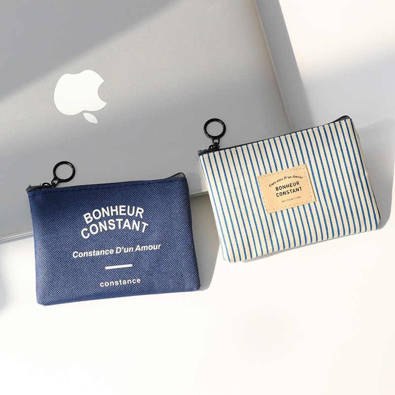 1 قطعة قماش للجنسين محفظة بطاقة مفتاح محفظة صغيرة الحقيبة حقيبة قماش قنب محفظة صغيرة سستة محفظة نسائية للعملات المعدنية محفظة حمل بطاقات cartera mujer