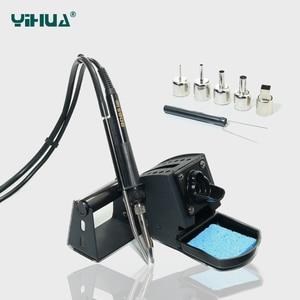 Image 3 - YIHUA 992DA + HOT AIR GUN Rework Soldering สถานีเหล็ก BGA Soldering Station BOARD Rework สถานีบัดกรี 110V หรือ 220V
