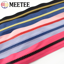 2Meters 5# Resin Zipper For Sewing Eco-friendly  Open-End Zippers Jackets Coat Down Sleeping Bag Zip DIY Sewing Accessories