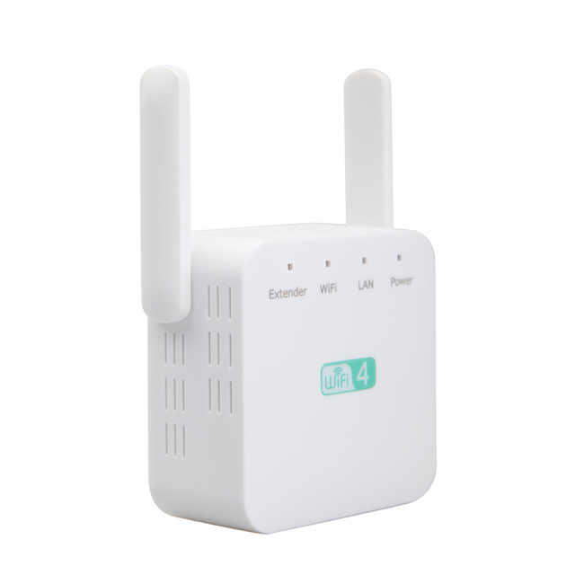 300Mbps Universal Signal Booster Portable Network Wireless Accessories Range Extender Amplifier Computer Access Point Router ABS 5