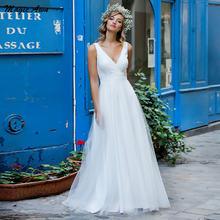 Женское платье с кружевной аппликацией magic awn свадебное трапеция