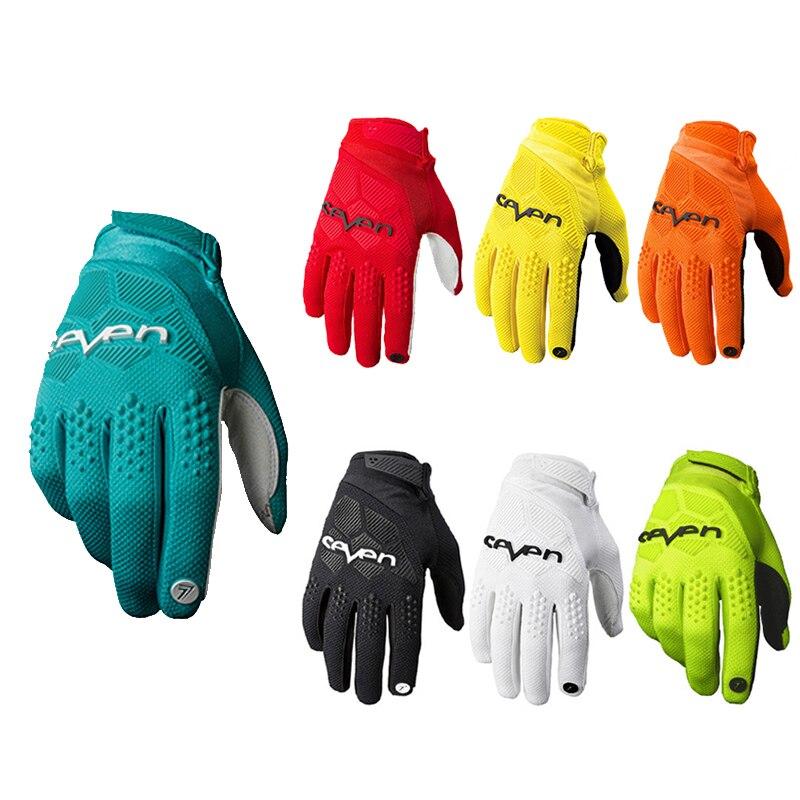 Новый Для мужчин Мотоциклетные Перчатки Для женщин Для мужчин 8 цветов MX гоночные перчатки для мотокросса ATV MTB велосипед BMX Спорт на открытом воздухе велосипедный байк перчатки