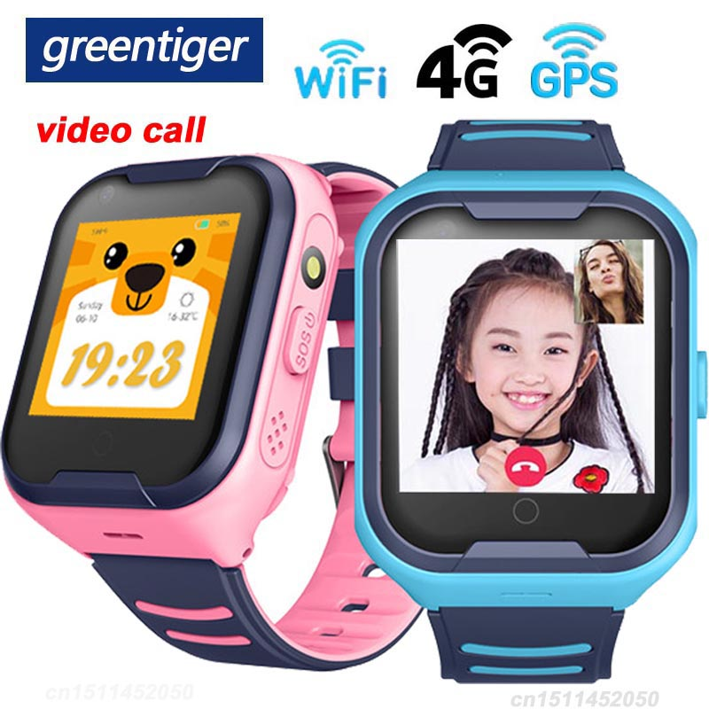Greentiger 4G Network A36E Wifi GPS SOS Smart Watch Kids Video call IP67 waterproof Alarm Clock Camera Baby Watch VS Q50 Q90-in Smart Watches from Consumer Electronics on AliExpress