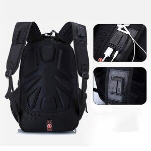 Image 5 - 뜨거운 판매 어린이 학교 가방 소년 배낭 브랜드 디자인 청소년 최고의 학생 여행 Usb 충전 방수 Schoolbag