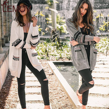 Summer Women Jackets Plus Size Thin Sweater Long Sleeve Cardigan Pockets Spliced Solid Loose Casual Knit Sweater Women Tops slit lace spliced loose sweater