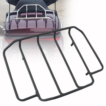Luggage Rack Rail Case For Harley Touring Road King Street Glide Classic Special Street Road Glide Ultra Classic custom FLH FLHX