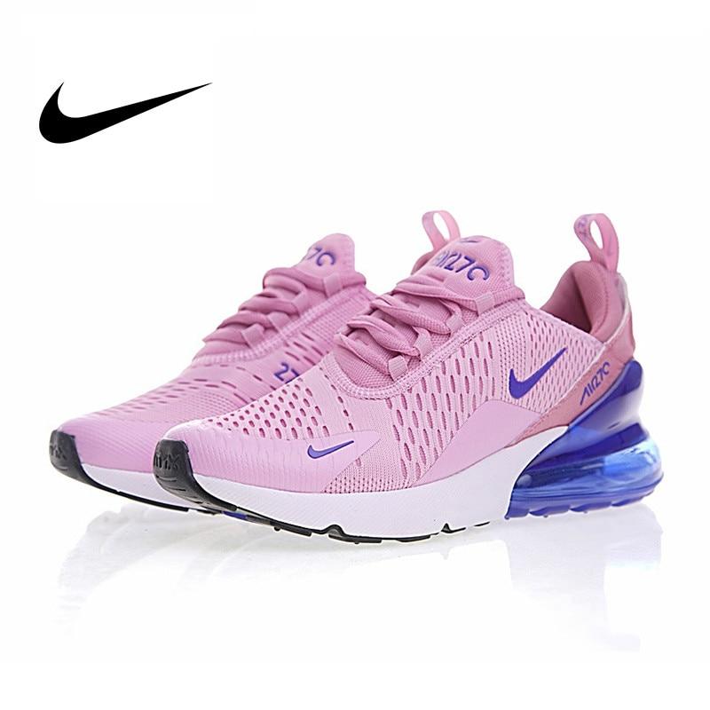 Original Nike Air Max 270 Women's Running Shoes Outdoor Sports Shoes Air Cushion Shoes 2019 New Breathable Fashion AH6789-023