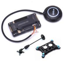 APM2.8 APM 2,8 ardupilot Контроллер полета M8N 7M gps встроенный компас для радиоуправляемого мультикоптера F450 S550