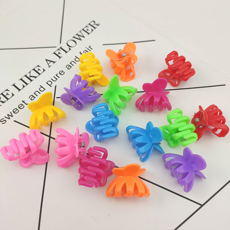 New Style Korean-style Plastic Hairpin Octopus Octopus Hair Claw Fashion Simple Grip Accessories Clip
