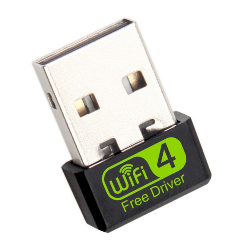2.4GHz Mini USB Wifi Adapter 150Mbps USB Ethernet Wifi Dongle Network Card Antena Wi-Fi Receiver Free Driver For PC Laptop
