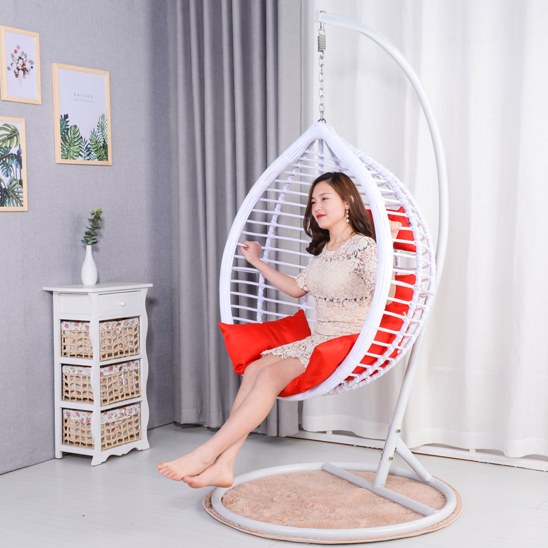 Hanging Chair Double Hanging Basket Rattan Chair Living Room Hammock Swing
