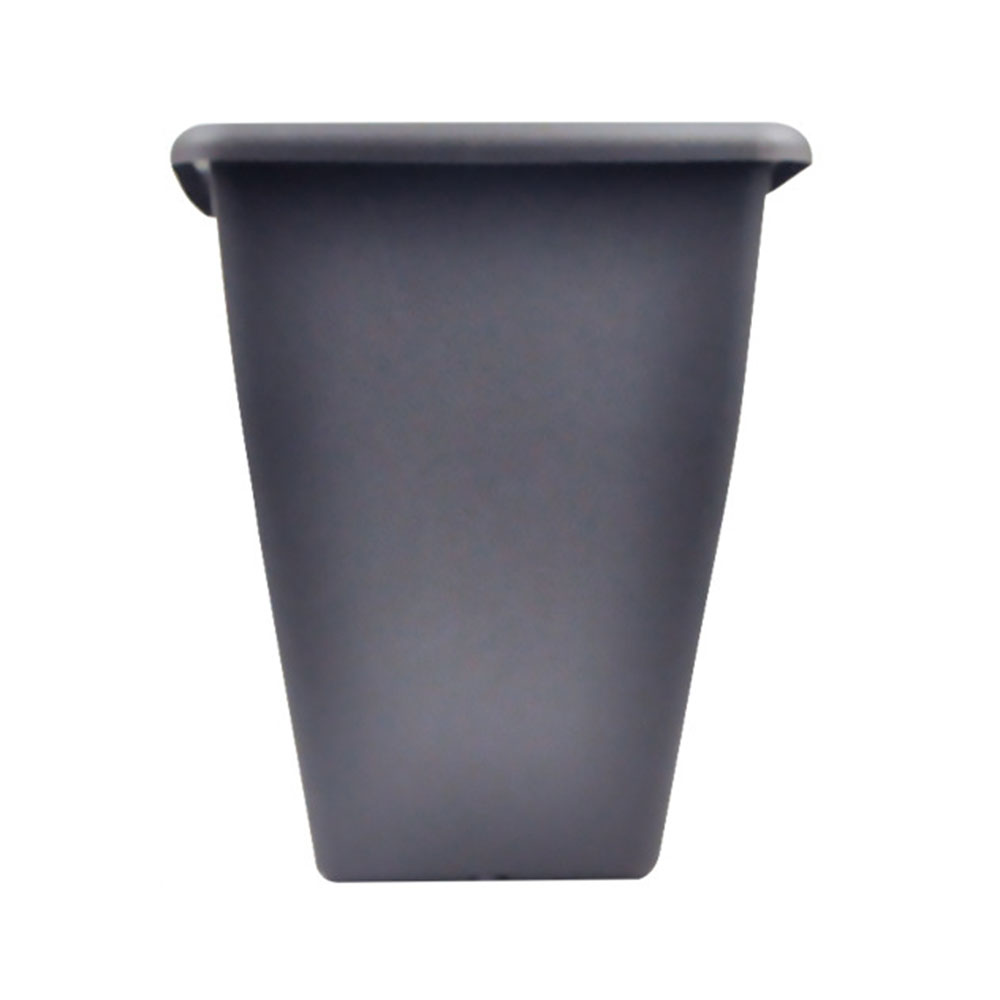 Large Tall Planter Square Plastic Office Garden Yard Indoor Outdoor Flower Pot