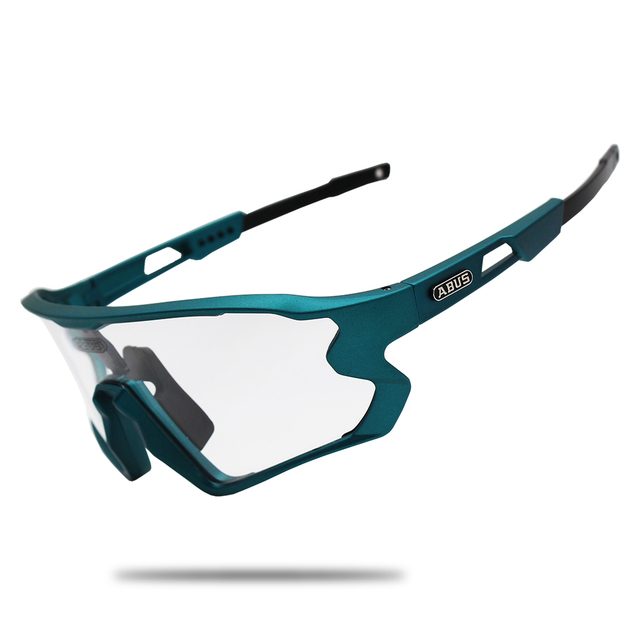 Óculos de sol preto photochromic ciclismo uv400 mtb bicicleta equitação tr90 esporte ao ar livre polarizado eyewear 1/5/6 lente 1