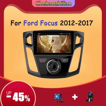 Android 10 Car Radio Multimedia Video Player For Ford Focus 3 Mk 3 2012-2017 GPS Navi Auto Stereo Support Bluetooth WIFI USB image
