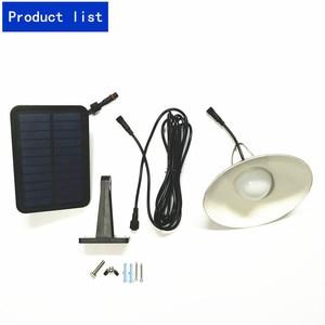 Image 3 - Luz colgante de energía Solar impermeable LED Retro Para calle, para patio exterior, jardín, pasillo, cafetería al aire libre con Panel