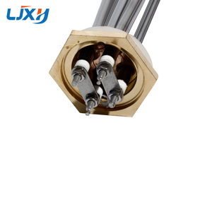 "Image 4 - LJXH 1 1/4 ""BSP חוט מים טבילה חימום אלמנט עבור מערכת שמש DC 24 V/36 V/ 48V 304SUS צינור + נחושת חוט"