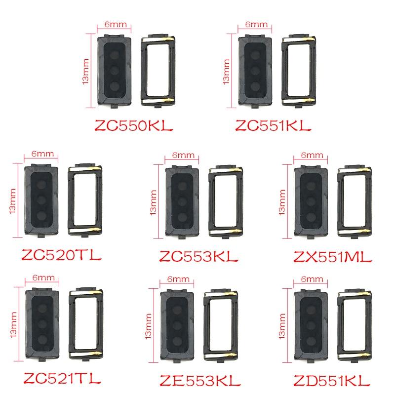 2Pcs Earpiece For Asus ZC520TL ZC521TL ZC550KL ZC551KL ZC553KL ZD551KL ZD552KL ZE520KL ZE552KL ZE553KL ZS550KL ZS570KL ZX551ML
