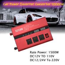 цена на Car Power Inverter 10000W LCD Display 12V TO 110V 12/24V to 220V Auto Car Inverter Converter Voltage Charger Transformer