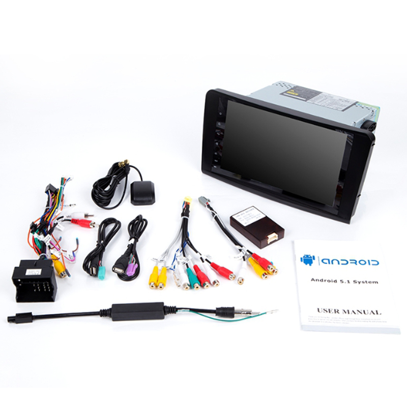 2 Din Car Radio GPS Android 9.0 NO-DVD Multimedia Player for <font><b>Mercedes</b></font> Benz <font><b>ML</b></font> <font><b>W164</b></font> ML300 GL X164 GL320 <font><b>350</b></font> 420 450 500Navigation image