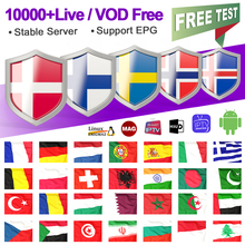 IPTV M3u France Belgium Spain Portugal German IPTV Subscription for Android Smart tv Mag Albania Sweden Norway Italy Greek IP TV цена 2017