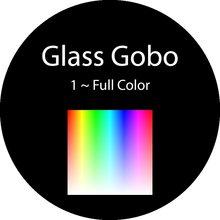 Стеклянный объектив Gobo на заказ 30/20 мм рекламный логотип для отеля бара ресторана бизнеса