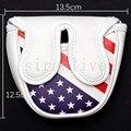 Колотушка для гольфа головной убор крышка клюшки для центрального вала клюшка Клуб Флаг США Стиль Магнитная застежка