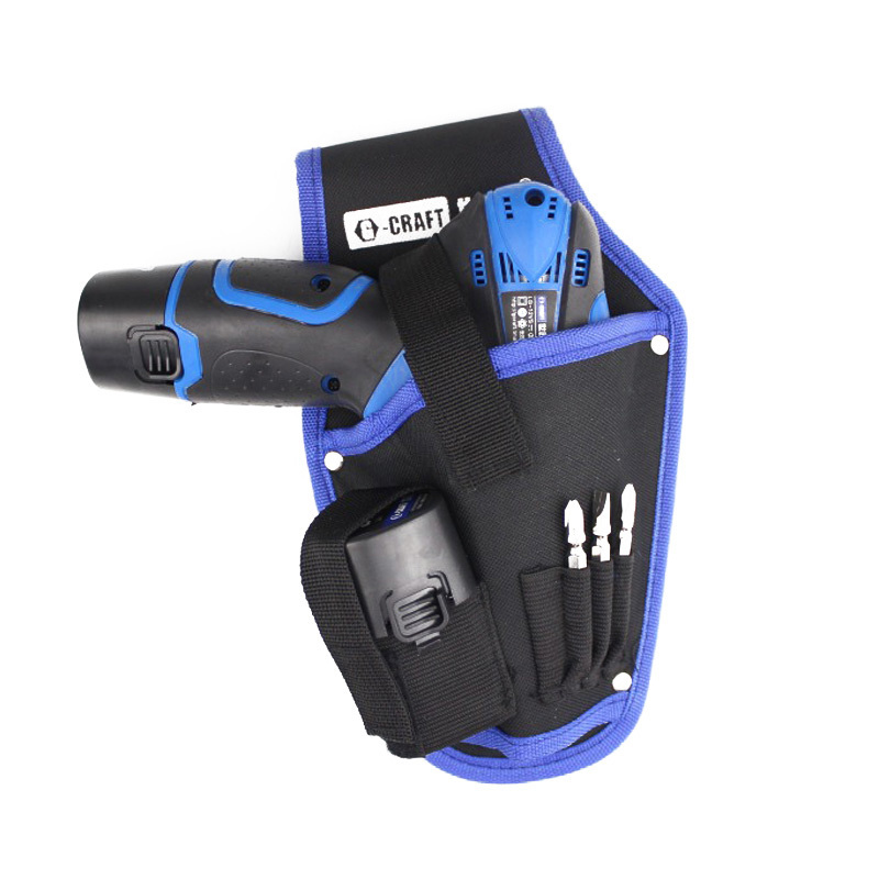 High Quality Tool Bag Portable Cordless Drill Holder Holst Tool Pouch For Drill Waist