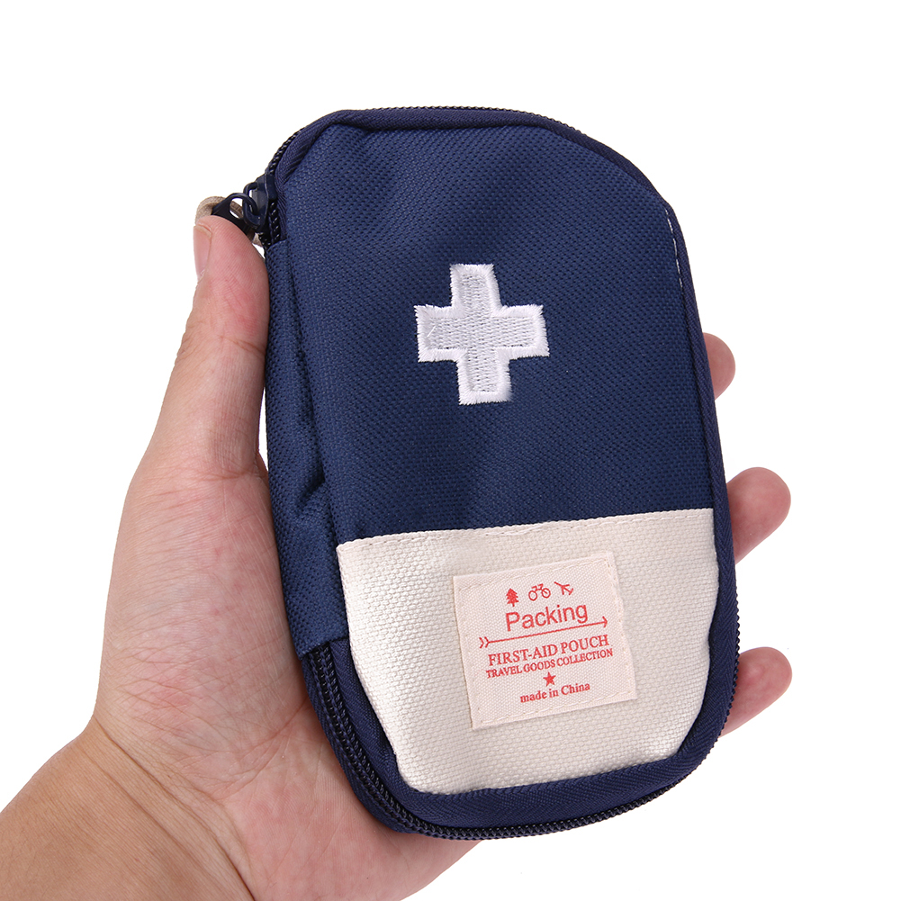 Mini Portable Outdoor Travel First Aid Kit Medicine Bag Home Small Medical Box Emergency Survival Pill Case