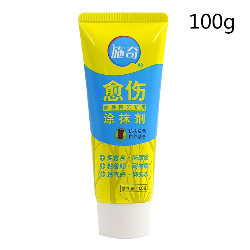 Brush With 100g Tree Wound Bonsai Cut Paste Smear Agent Pruning Compound Sealer