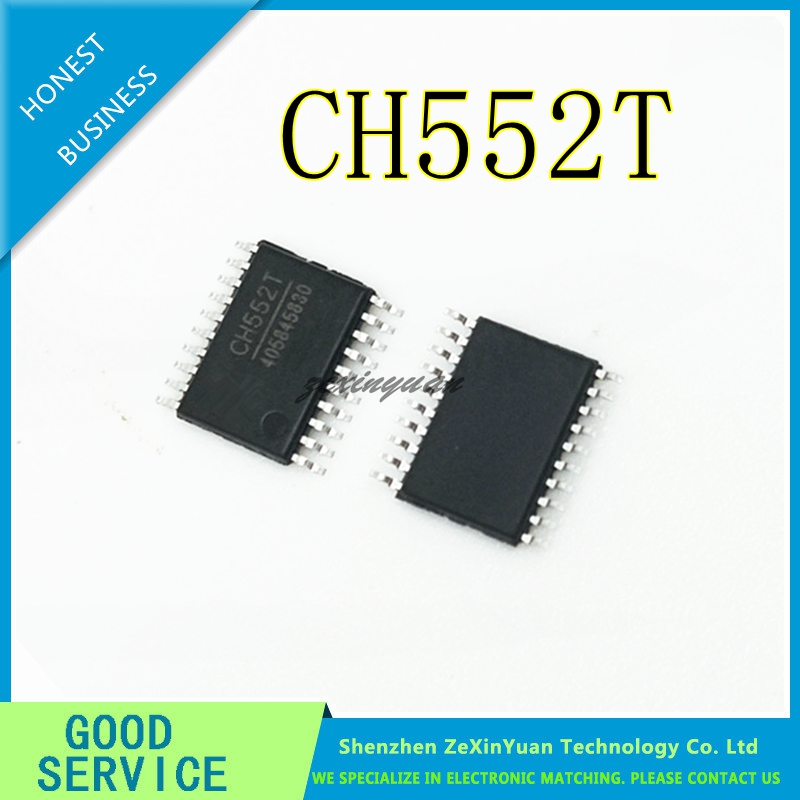10PCS 50PCS CH552T TSSOP-20 CH552G SOP-16 CH552E  MSOP10 USB CHIP