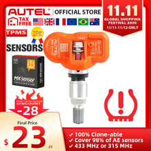 Newest Autel MaxiTPMS PAD TPMS Sensor Programming Accessory Device and Autel 2 in 1 MX Sensor 433MHz 315MHZ Universal Programmer