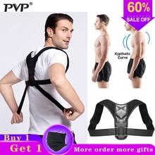 PVP Brace Support Belt Adjustable Back Posture Corrector Clavicle Spine Back Shoulder Lumbar Posture Correction