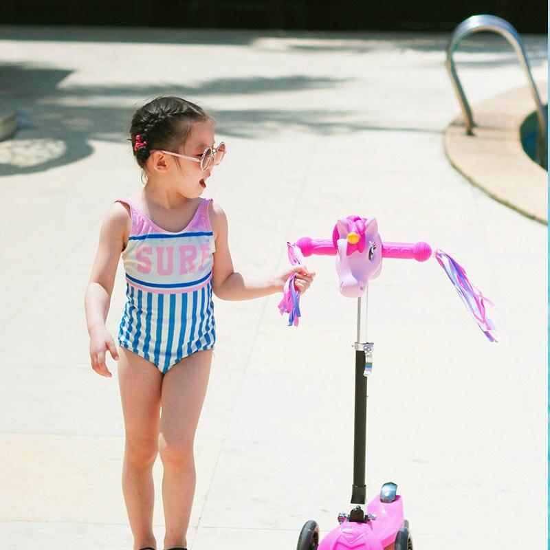 New Style CHILDREN'S Swimwear One-piece GIRL'S Swimsuit Children Triangular Baby Bathing Suit Cute Spa Resort Swimwear