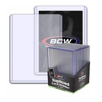 BCW topload board game cards holder Gaming trading cards protector case ultra pro