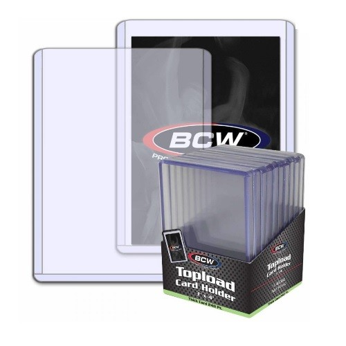 BCW topload board game cards holder Gaming trading cards protector case ultra pro image