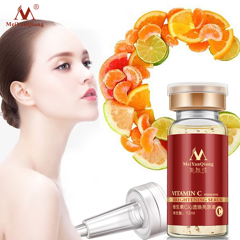 Super Skin Care Vitamin C Whitening Anti Wrinkle Facial Serum Anti Aging Moisturzing Serum Face Care VC Remove Dark Spots Serum