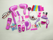 Barber Shop CHILDREN'S Toy Play House Beauty And Hair Set Model Dresser Educational Play Game