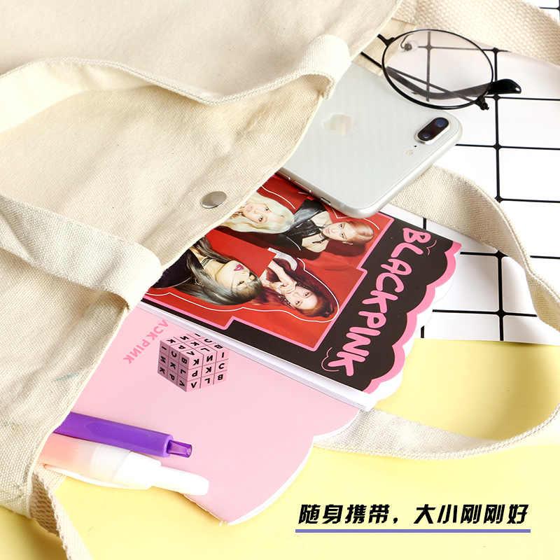 1Pcs KPOP EXO XIUMIN D. O. SUHO CHEN BlackpinkMini 다이어리 노트 편지지 핸드북 메모 노트 필기구 팬 선물