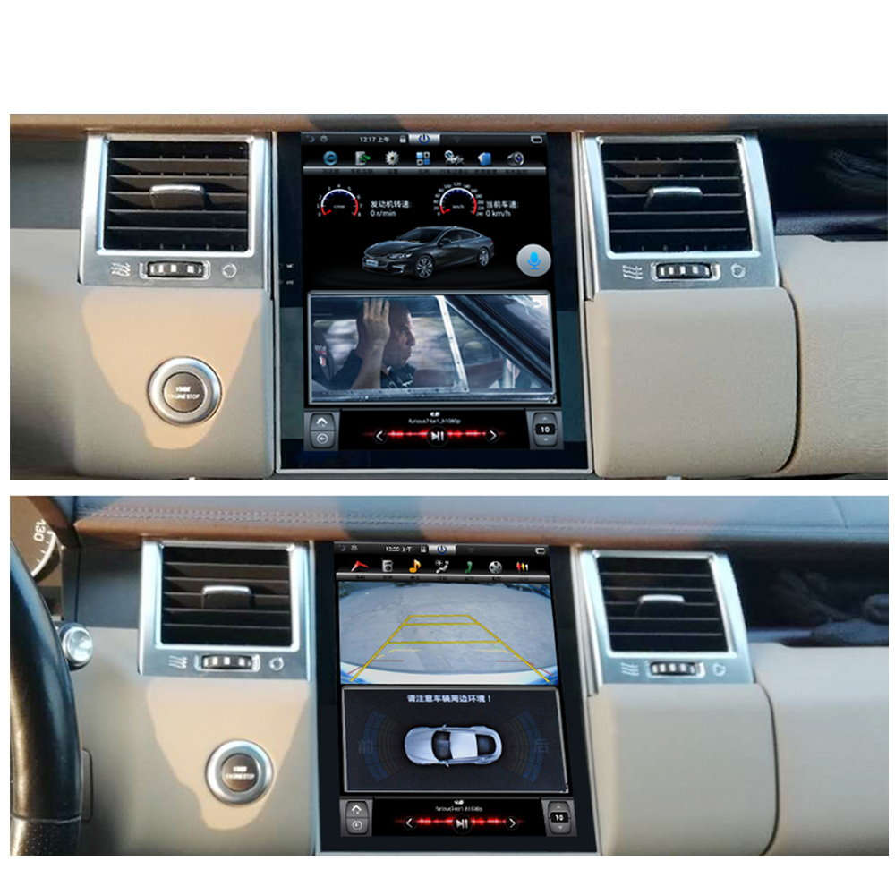 Image 3 - Liorlee For Range Rover Sport 2009 2013 Car Radio Android HD Screen GPS Navigation original style Multiemdia SystemCar Multimedia Player   -