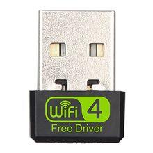 Wifi-Adapter Laptop Windows-10 Dongle Antenna PC 150mbps Desktop Mini-Usb Wi-Fi Wireless