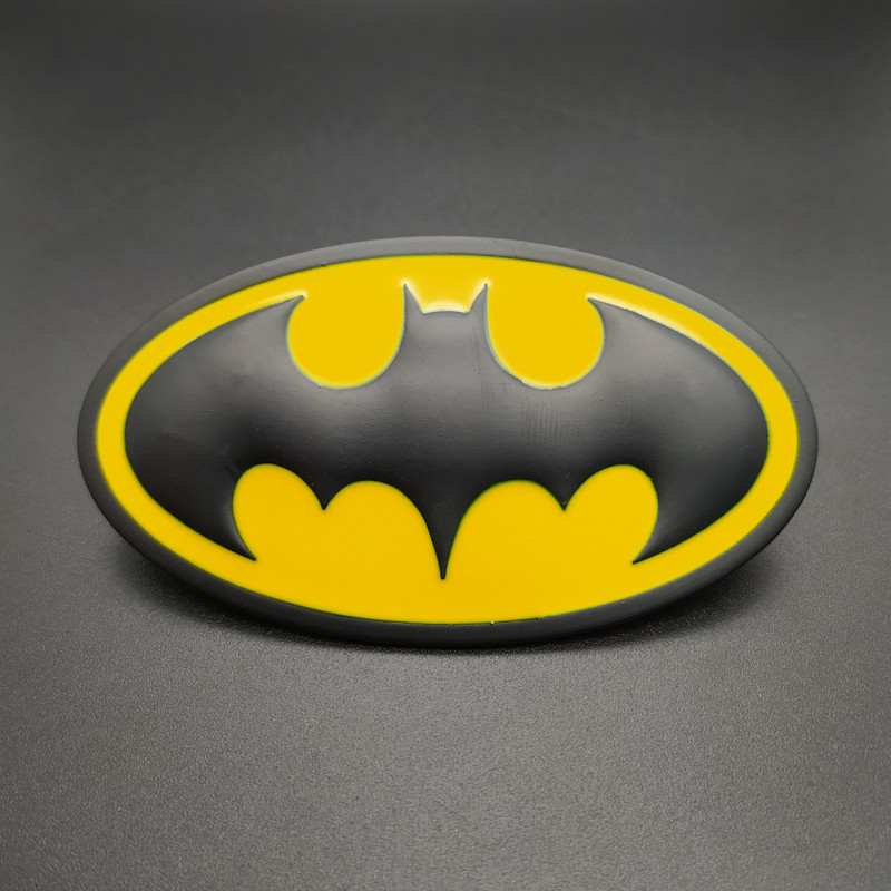 New 1PCS 3D Batman Logo Emblem Stickers Auto Car Emblem Badge Sticker Car Styling Accessories DIY Accessories