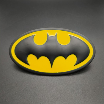 New 1PCS 3D Batman Logo Emblem Stickers Auto Car Emblem Badge Sticker Car Styling Accessories DIY Accessories 2018 new car sticker cool cute big gecko 3d car sticker car styling decal emblem badge car styling accessories