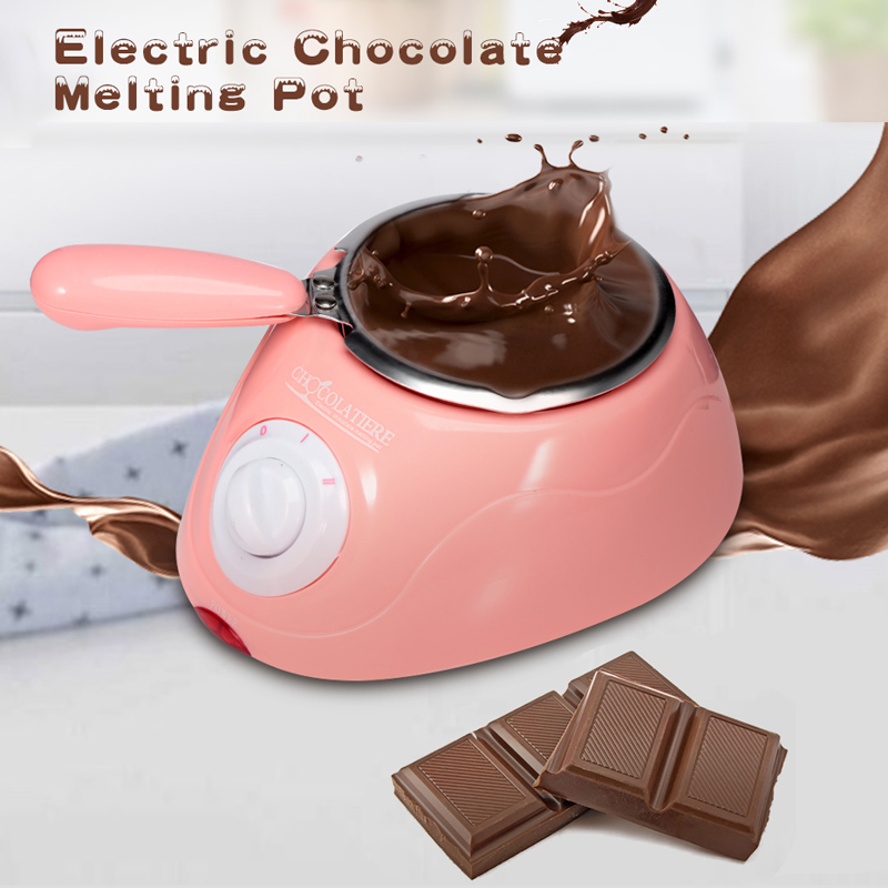 Household Mini Chocolate Maker Candy Melting Pot Electric Melter Machine DIY Chocolate Candies Kitchen Tool With Free Mould