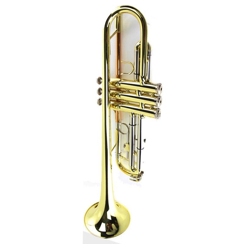 B-flat trois tons trompette Instrument Trompeta Instruments de musique en laiton étudiants professionnels BS05