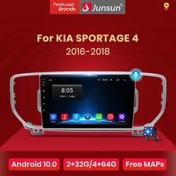Junsun V1 Android 10.0 AI Voice Control 4G DSP Car Radio Multimedia GPS Navigator For KIA Sportage 4 KX5 2016 2017 2018 2Din dvd