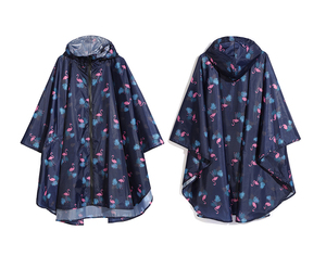 Image 2 - Freesmily kadın moda yağmurluk su geçirmez yağmur panço pelerin Hood yürüyüş tırmanma ve tur