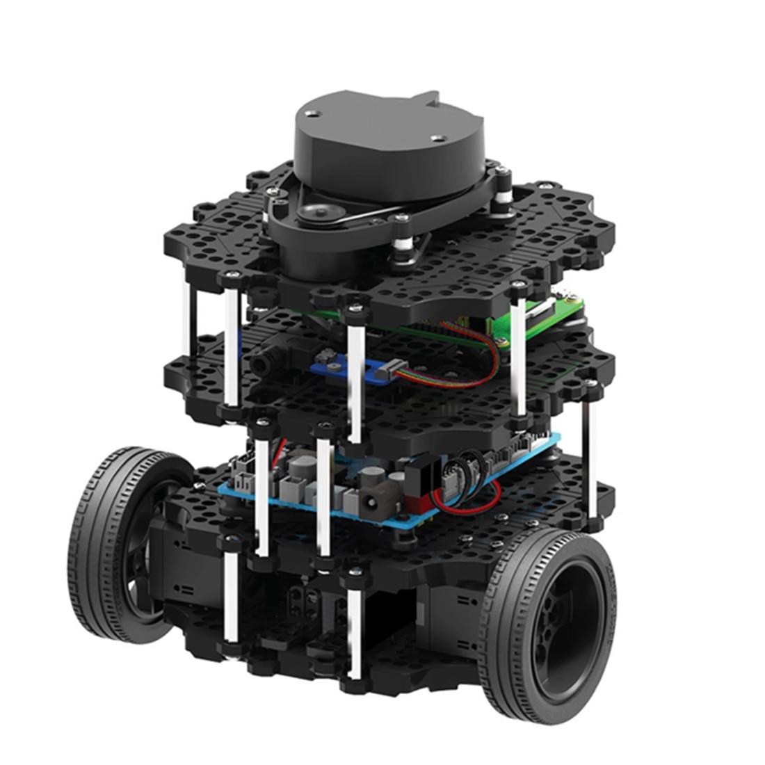 Programmable ROS Robot Automatic Navigation SLAM Car Turtlebot3-Burger Pi3 Kit/Bulk Parts Educational Toy Gift For Kids Adults