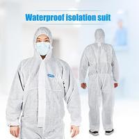 Vestuário de proteção profissional macacão não tecido isolamento terno conjunto descartável workwear químico antiestático Roupas de segurança     -