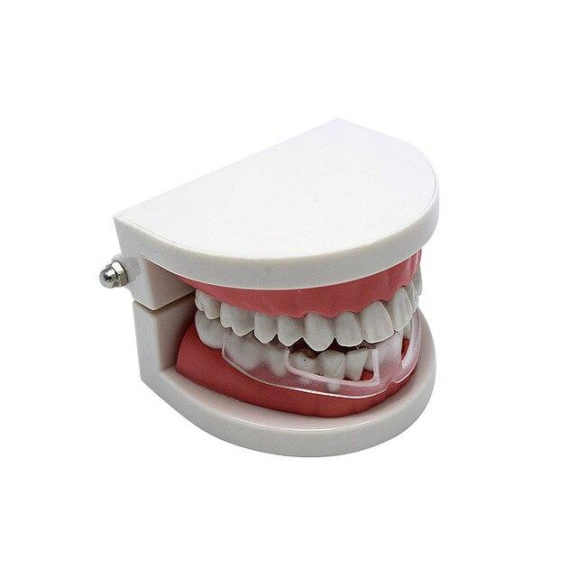 1 pièces attelle orthodontique souple Buck dents retenue boxe dent protecteur buccoires dentaires appareil orthodontique formateur